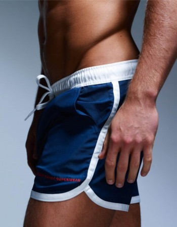 Saint Paul Swim Dark Navy Shorts