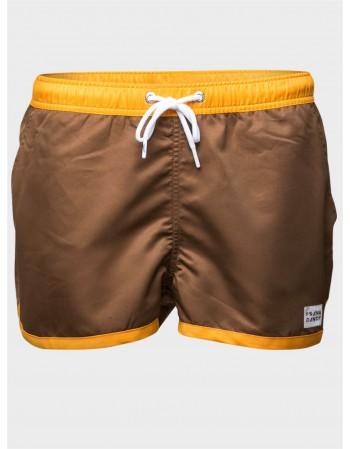 Saint Paul Swim Shorts Brown