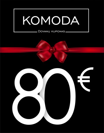 Eighty euro gift voucher