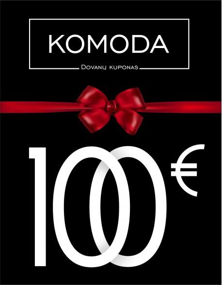 Šimto eurų vertės dovanų kuponas