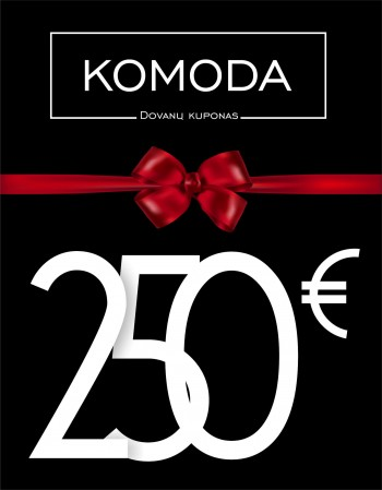 A gift voucher worth two hundred and fifty euros