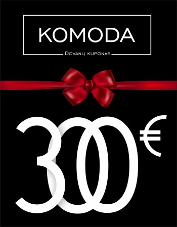 A gift voucher worth three hundred euros