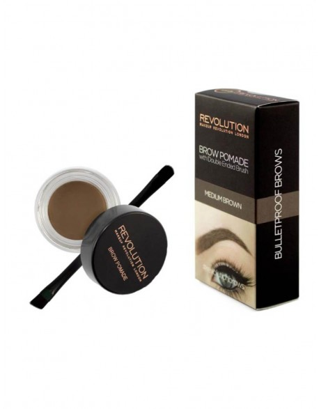 "Makeup Revolution rinkinys antakiams ""Medium Brown"""