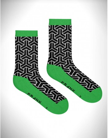"Мужские носки ""Bamboo waka crew Green"""