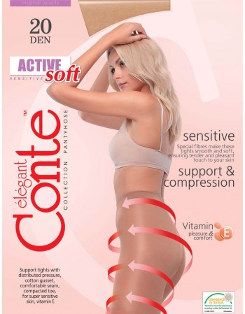 "Women's Tights ""Active soft"" 20 Den."