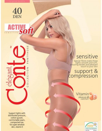 """Active soft"" 40 Den."