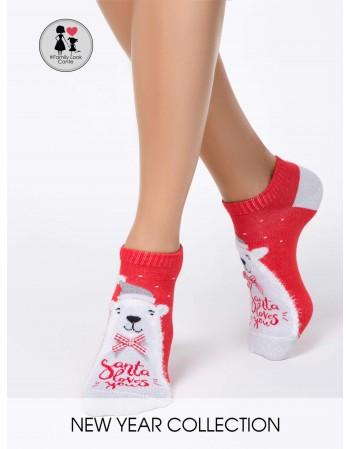 """Santa Her Red"""