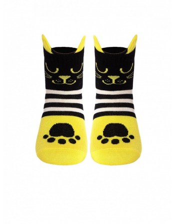 "Children's socks ""Tip-Top Yellow"""