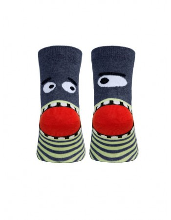 "Children's socks ""Shark"""