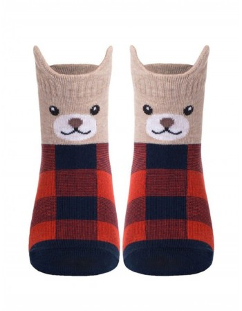 "Children's socks ""Mini Teddy"""
