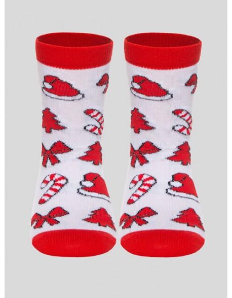 """Vaikiškos kojinės """"Christmas Red"""""""