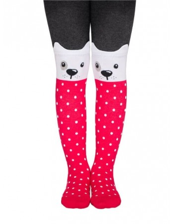 "Tights for children ""White Dog"""