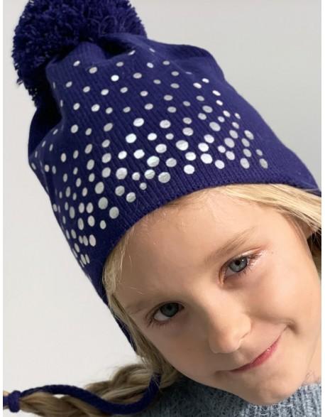 "Vaikiška kepurė ""Polka Dots"""
