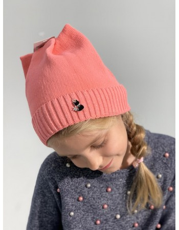 "Children's hat ""Black Kitty"""