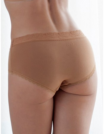 "Kelnaitės Classic ""Lace hipster Nude"""