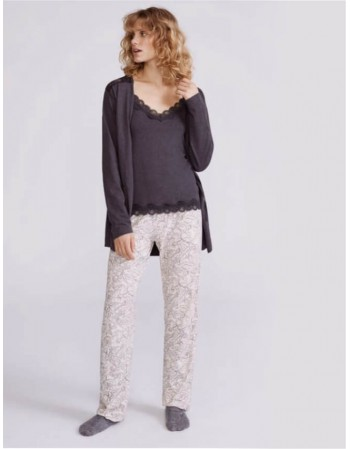 "3-piece Pajamas ""Gris"""