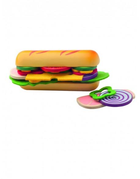 """Vaikiškas rinkinys """"Sukurk panini sumuštinį"""""""
