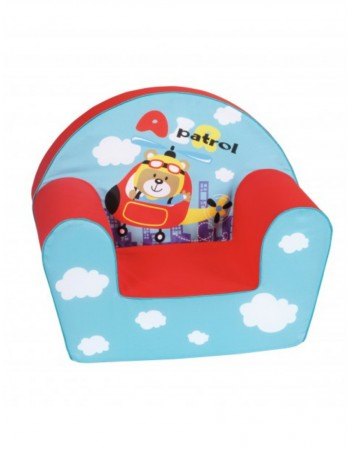 """Raudonas foteliukas - """"Sraigtasparnis"""""""