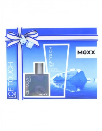 Rinkinys MEXX Ice Touch EDT+gel 30 ml
