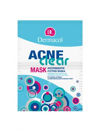 "Face mask ""Dermacol"" Acne Clear"