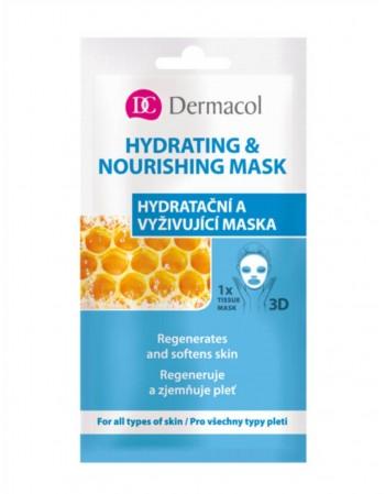 """Veido Kaukė """"Dermacol"""" Hydrating&Nourishing"""