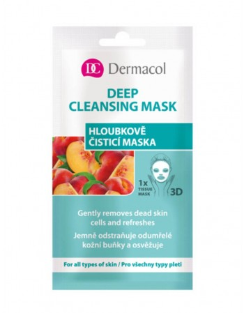 "Face mask ""Dermacol"" Deep cleansing"