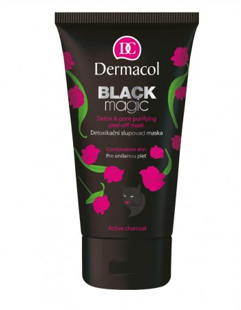 "Veido kaukė ""Dermacol"" Black Magic peel-off 150 ml"