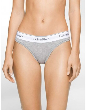 "Women's Panties String ""CALVIN KLEIN Grey String"""
