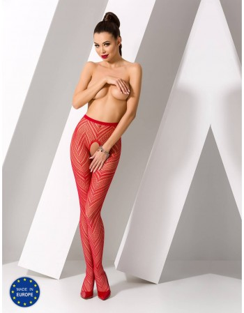 "Stockings with belt ""Catrice Red"""