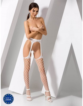 "Stockings with belt ""Abbey"""