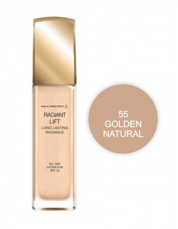 Kreminė pudra Max Factor Radiant Lift 55 Golden Natural
