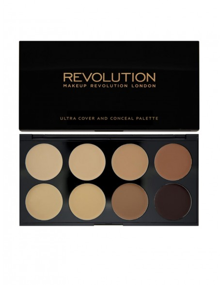 Kontūravimo paletė MakeUp Revolution Cover&Conceal