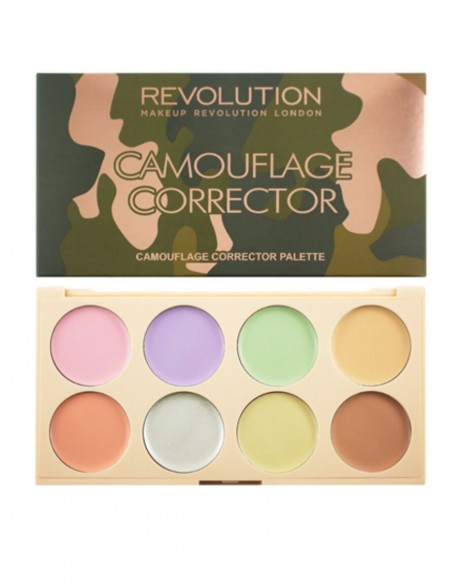 Maskuoklių paletė MakeUp Revolution Camouflage Corrector