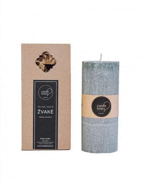 Kvepianti Apvali Žvakė Pajūrio Žaluma 23 cm