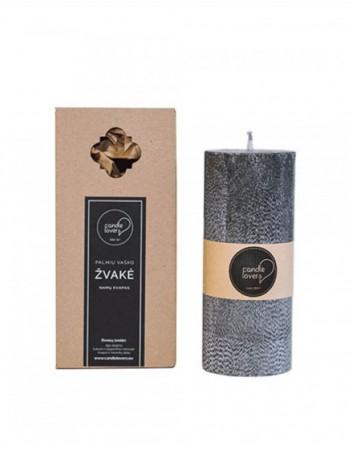 Kvepianti Apvali Žvakė Miško Magija 18 cm