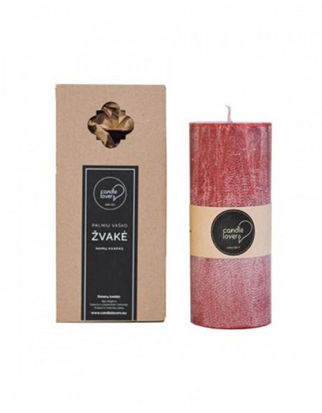 Kvepianti Apvali Žvakė Miško Bučiniai 18 cm