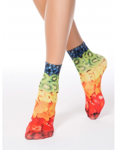 "Moteriškos kojinės ""Fantasy Multicolor"""