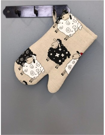 "Kitchen glove ""Sweet sheep"""