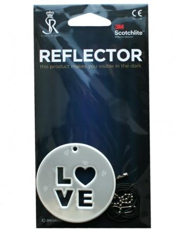 "Hanging Reflector ""Love"""
