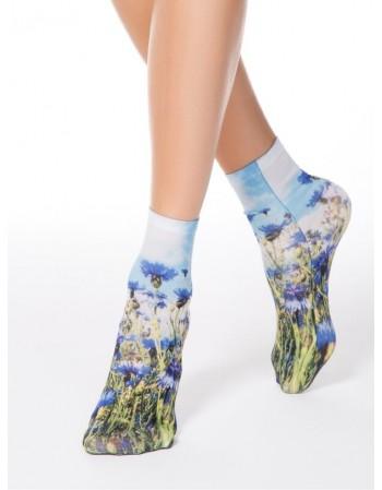 """Moteriškos kojinės """"Wild Flowers"""""""
