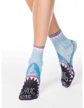 """Moteriškos kojinės """"Shark"""""""