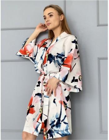 """Satino Kimono """"Šiaurės akvarelė"""""""