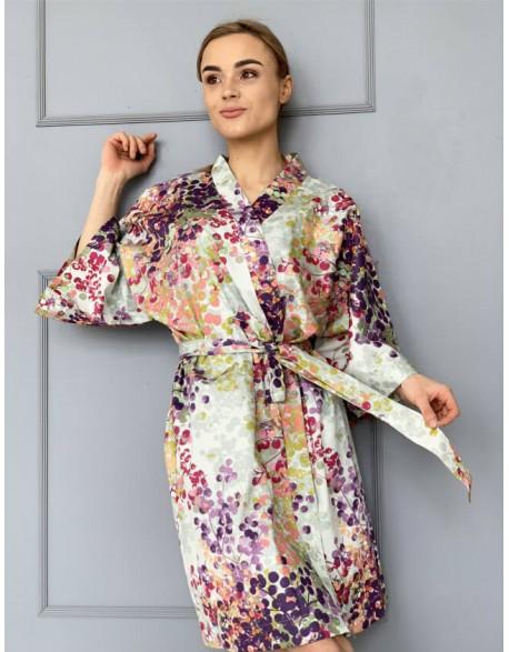 """Satino Kimono """"Vasaros galerija"""""""