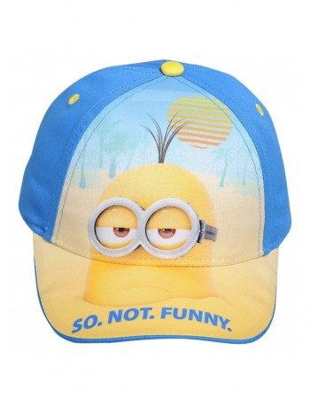 "Children's hat ""Minions so not funny"""