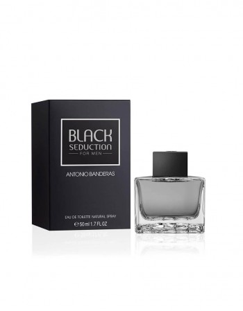 Kvepalai ANTONIO BANDERAS Seduction in Black EDT 50 ml