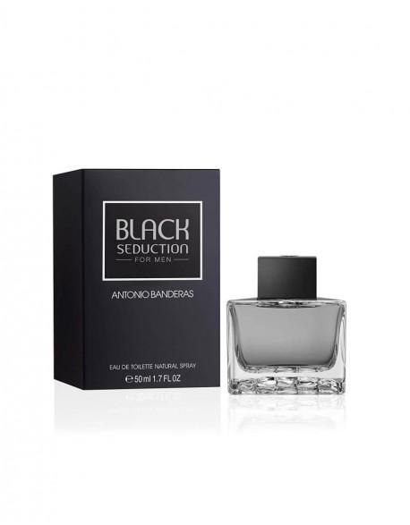 Kvepalai ANTONIO BANDERAS Seduction in Black EDT 50 ml