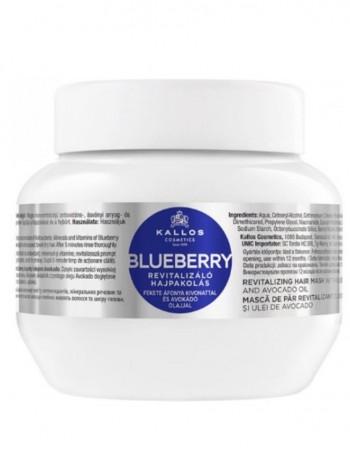 Plaukų kaukė KALLOS COSMETICS Blueberry