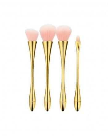 Meigipintslite komplekt TB 4vnt Pink Gold