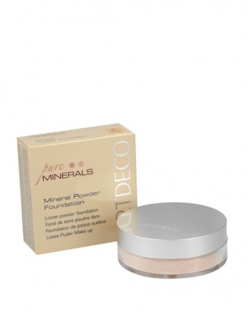 Mineralinė Pudra ARTDECO Pure Minerals 6 Honey