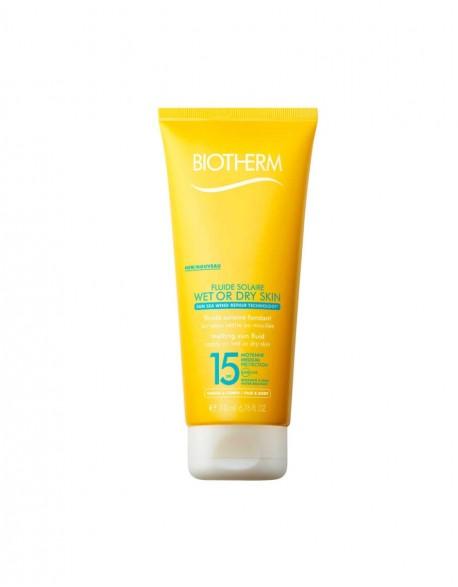Kremas nuo saulės BIOTHERM Wet or Dry skin 15 SPF